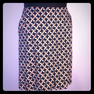 Talbots cotton spandex skirt.
